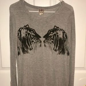 EUC- Haute Hippie Tiger Top